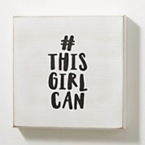 #This Girl Can Box Wall Art NEW